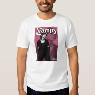 Kaz Guitars Vamps band tee shirt