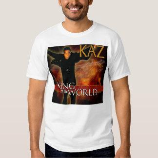 Kaz King of the World T-Shirt