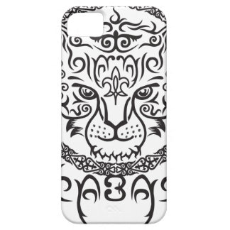 Kazakh style with snow leopard pattern case for the iPhone 5