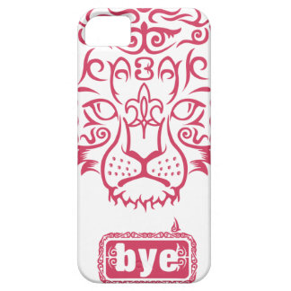 Kazakh style with snow leopard pattern iPhone 5 cover