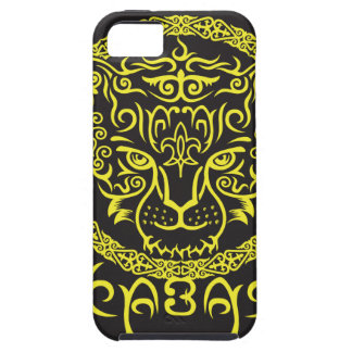 Kazakh style with snow leopard pattern iPhone 5 cases