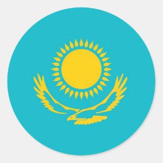 Kazakhstan Classic Round Sticker
