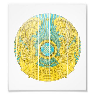Kazakhstan Coat Of Arms Photographic Print