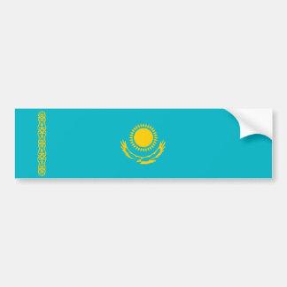 Kazakhstan country long flag nation symbol republi bumper sticker