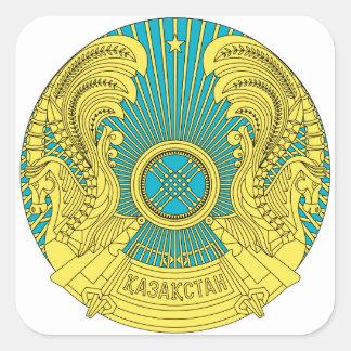 kazakhstan emblem square sticker