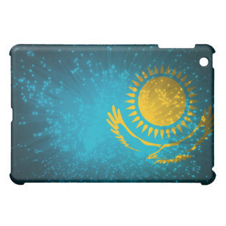 Kazakhstan Flag Firework Cover For The iPad Mini