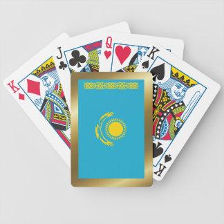 Kazakhstan Flag Playing Cards