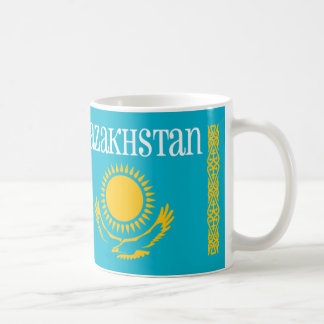 Kazakhstan Gold Sun and Eagle   Mug