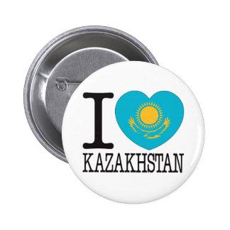 Kazakhstan Love v2 6 Cm Round Badge