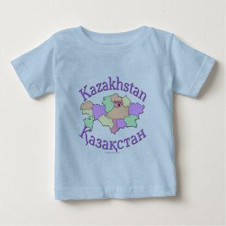 Kazakhstan Map Baby T-Shirt
