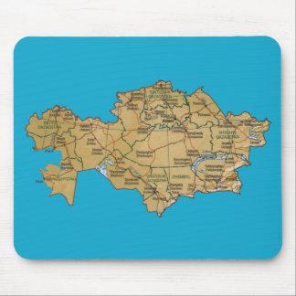 Kazakhstan Map Mousepad