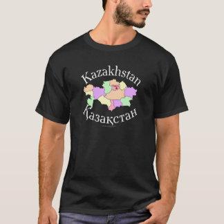 Kazakhstan Map T-Shirt