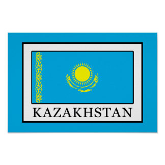 Kazakhstan Poster