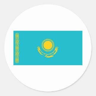 Kazakhstan Round Sticker