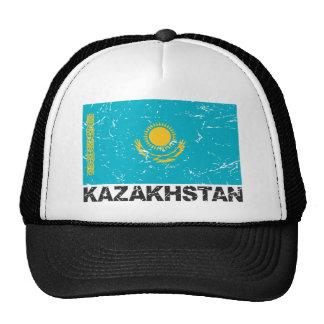 Kazakhstan Vintage Flag Cap