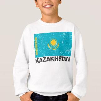 Kazakhstan Vintage Flag Sweatshirt