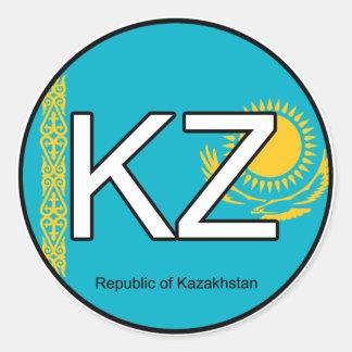 Kazakshstan Euro Sticker