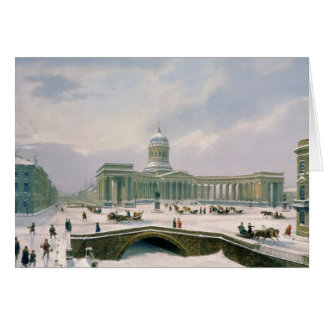 Kazan Cathedral, St. Petersburg Card