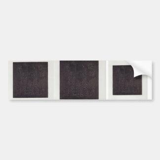 Kazimir Malevich- Black Square Bumper Sticker