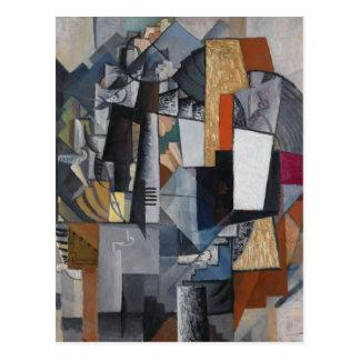 Kazimir Malevich- Bureau and Room Postcard
