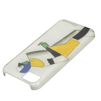Kazimir Malevich- Sportsman iPhone 5C Covers