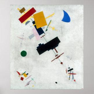 Kazimir Malevich - Suprematism Poster