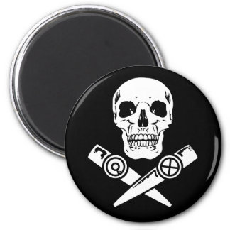 Kazoo Pirate 6 Cm Round Magnet