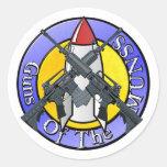 KB Guns of the MUNSS Classic Round Sticker