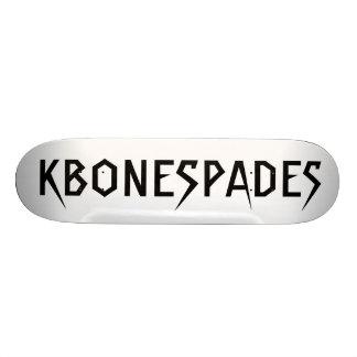 KBONESPADES SKATEBOARD DECKS