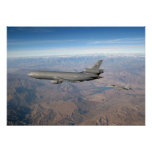 KC-10 Extender and FA 18 Hornet Posters