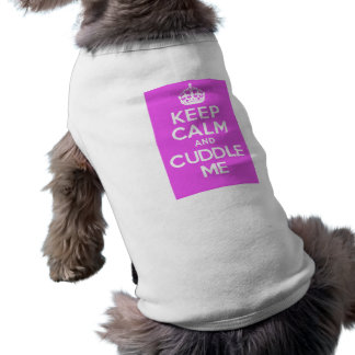 KC&CMPink Sleeveless Dog Shirt