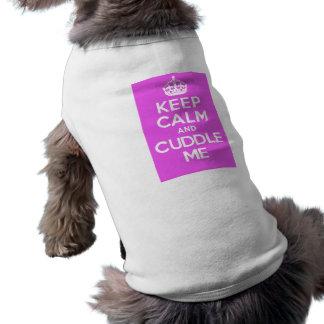 KC&CMPink Sleeveless Dog Shirt