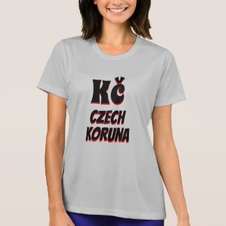 Kč Czech koruna grey T-Shirt