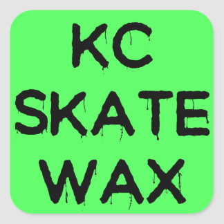 kc skate wax logo stickers
