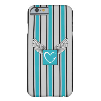 Kciafa gray and blue soon barely there iPhone 6 case
