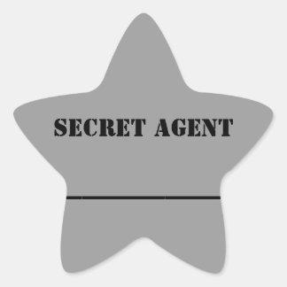 KC's Secret Agent Name Sticker