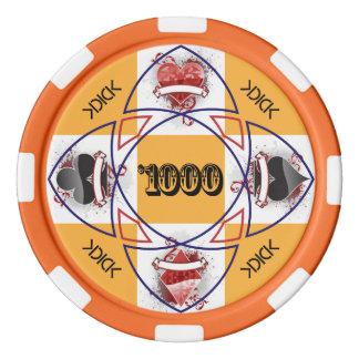 KDICK $1000 Poker Chip