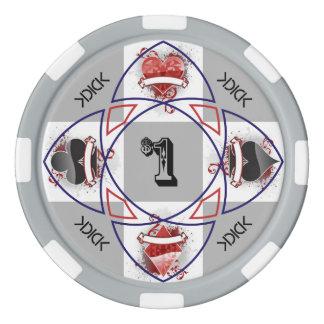 KDICK $1 Poker Chip