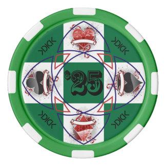 KDICK $25 Poker Chip