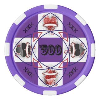 KDICK $500 Poker Chip