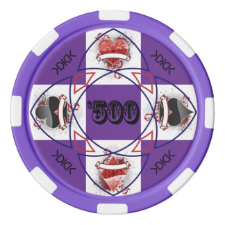 KDICK $500 Poker Chip Poker Chips