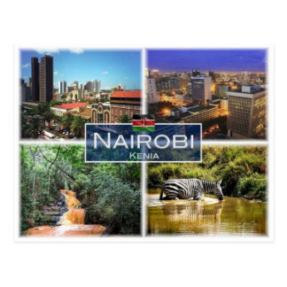 KE Kenya - Nairobi - Postcard