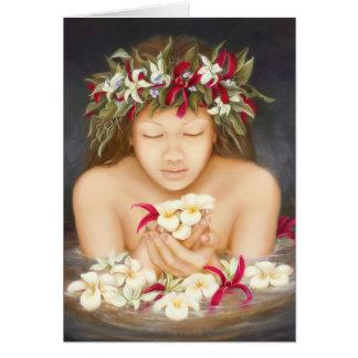"""""""Ke'ala"""", oil painting by Lori Higgins Card"""
