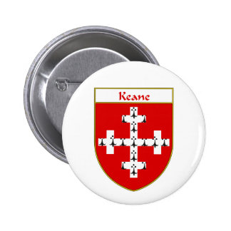 Keane Coat of Arms/Family Crest 6 Cm Round Badge