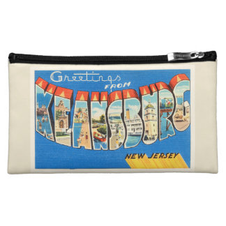 Keansburg New Jersey NJ Vintage Travel Postcard- Makeup Bags