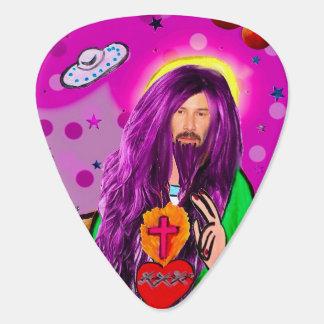 Keanu Jesus Guitar Pick