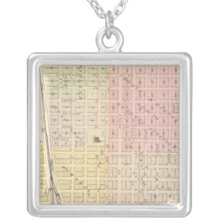 Kearney City, Nebraska Silver Plated Necklace