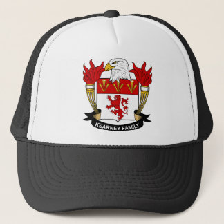 Kearney Family Crest Trucker Hat