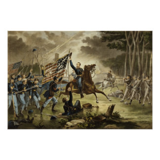 Kearny's Charge Poster