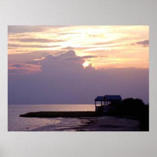 Keaton Beach Sunset Poster